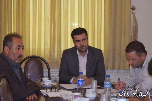 کمیسیون دانشجویی و دانش آموزی شهرستان  برگزار شد