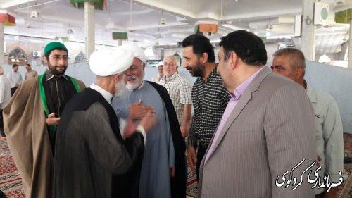 نماز دشمن شکن روز جمعه به امامت حجه الاسلام شاعری برگزار شد