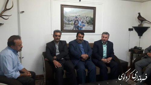 فرماندارکردکوی ازآزادگان سرفراز میهن اسلامی دیدار و از رشادتهای آنان تجلیل کردند