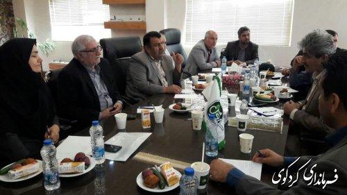 راه حلهای گوناگون رفع موانع تولید در  شهرک صنعتی کردکوی  بررسی شد