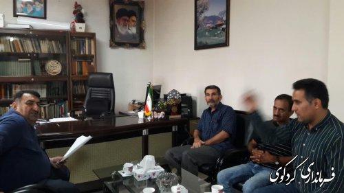 در ملاقات عمومی امروز مردم با قدمنان فرماندار کردکوی