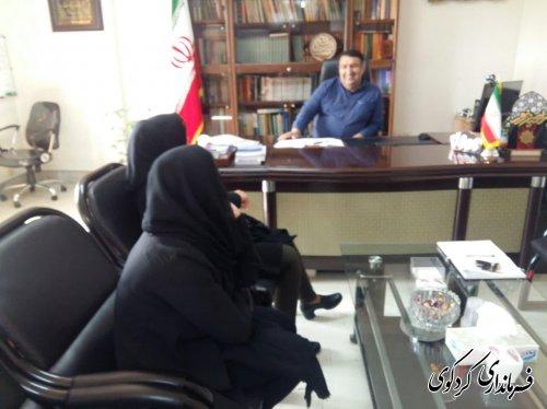 ملاقات عمومی فرماندار کردکوی برگزار شد