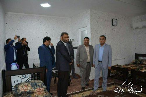 """پایگاه اسکان دائم فرهنگیان """"خانه معلم """"در شهرستان کردکوی افتتاح شد"""