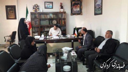 ملاقات عمومی تعدادی از شهروندان با فرماندار کردکوی برگزار شد