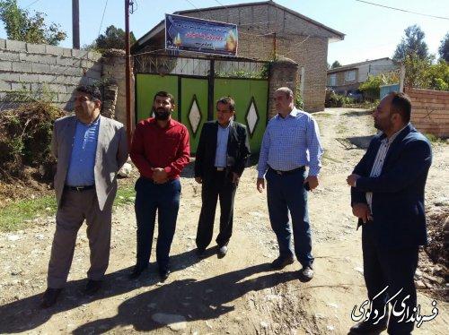 اجرای فاز دوم طرح هادی در روستاهای نامن،ایلوار و خرم اباد
