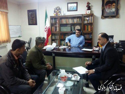 مردم شریف شهرستان با ابراهیم قدمنان فرماندار کردکوی دیدار و گفتگو کردند