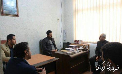 بازدید معاون فرماندار از مرکز ترک اعتیاد سرپایی در شهر کردکوی