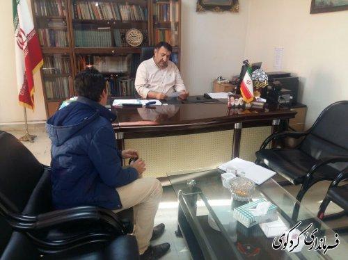 تعدادی از شهروندان بصورت جداگانه با فرماندار کردکوی دیدار و گفتگو کردند