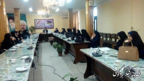 دومین جلسه کمیته بانوان ستاد گرامیداشت دهه فجر شهرستان تشکیل شد