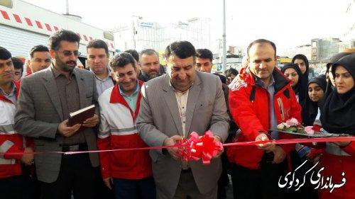 نمایشگاه توانمندیهای امداد و نجات هلال احمر شهرستان افتتاح شد