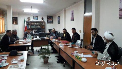 معاون سیاسی فرماندار به عنوان دبیر ستاد احیای امر به معروف شهرستان کردکوی منصوب شد
