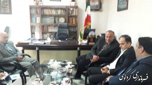 دیدار اعضای اتحادیه انجمنهای اسلامی بندر گز با فرماندار کردکوی