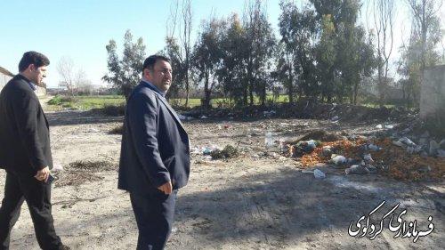 اظهار تاسففرماندار کردکوی از عدم ارایه خدمات مناسب شهری توسط شهرداری