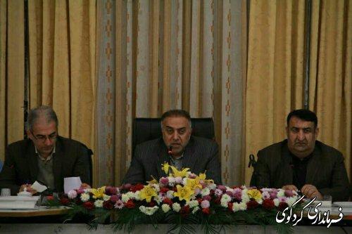 نشست چند جانبه مدیریت بحران غرب استان در گرگان برگزار شد