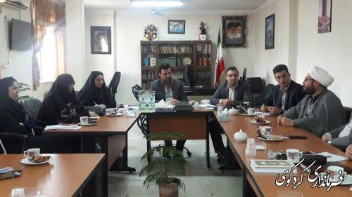 دومین نشست هیات اندیشه ورز شهرستان کردکوی برگزار شد
