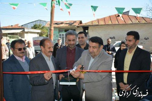 یازدهمین دفتر خدمات پست بانک شهرستان در روستای چهارده شهرستان افتتاح شد