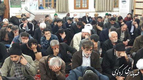 یادواره ۷۴ شهید روحانی استان در مسجد جامع کردکوی برگزارشد.