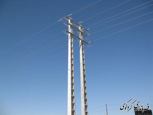 منطقه گردشگری امامزاده چهار کوه با اعتبار ۱۶۰ میلیون تومان برق رسانی شد