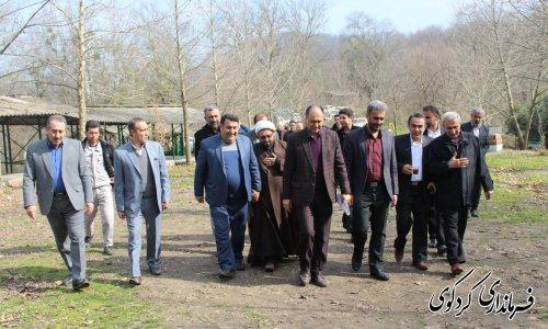 منطقه گردشگری امامزاده چهار کوه با اعتبار ۱۶۰ میلیون تومان برق رسانی شد.