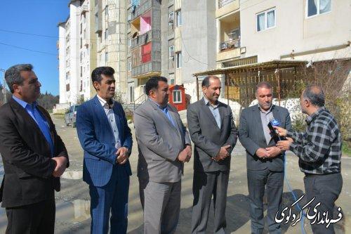 پیگیری مسائل و مشکلات مسکن مهر کردکوی اولویتهای مجموعه مدیریت شهرستان است