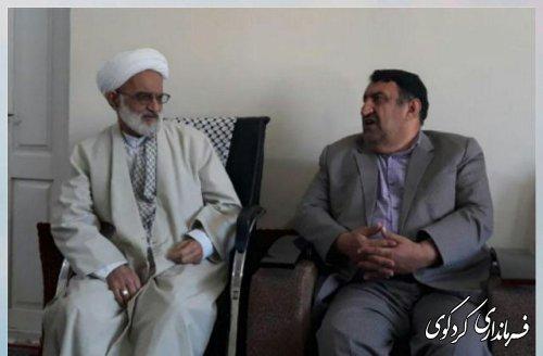 دیار فرماندار با امام جمعه کردکوی