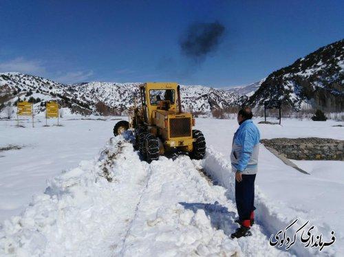 قدمنان فرماندار کردکوی:  واردشدن خسارات سنگین برف به منازل مسکونی روستاهای  کوهپایه ای بخش مرکزی کردکوی