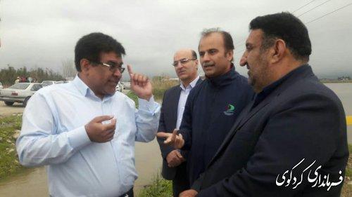 دیدار رئیس سازمان جهاد کشاورزی ، مدیرکل راه وشهرسازی ، معاون هواپیمایی استان  ... با ابراهیم قدمنان فرماندار کردکوی .