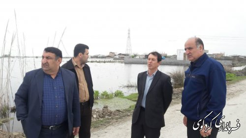 آخرین هشدار فرماندارکردکوی به باقیمانده ساکنین روستای حاجی آباد دشت نسبت به تخیله از منازل خود.