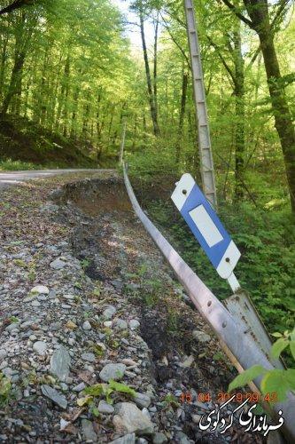 ۱۰ میلیارد تومان خسارات به راههای درازنو و مناطق کوهستانی شهرستان