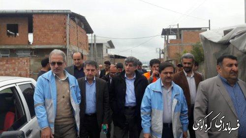 دولت به خسارت دیدگان سیلزده کمکهای بلاعوض و تسهیلات بانکی پرداخت می کند.