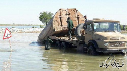 تجهیزات لازم برای لایروبی رودخانه قره سو فراهم شد