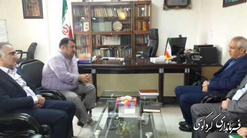 قدمنان فرماندار کردکوی: بانک کشاورزی مورد اعتماد دهقانان زحمتکش است.