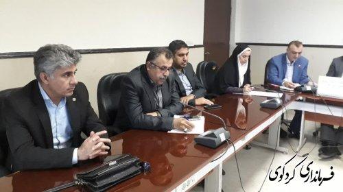 هشدار فرماندار کردکوی برای پیشگیری از شیوع احتمالی بیماریهای مسری و واگیر دار در مناطق سیلزده