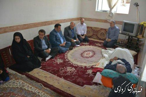 بازدید از مددجویان تحت پوشش کمیته امداد