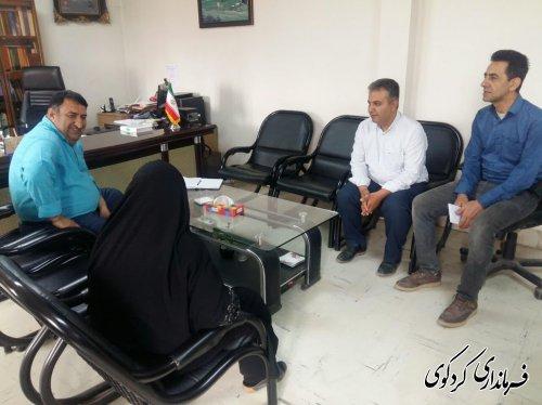روز پر مشغله در ملاقات عمومی امروز سه شنبه  دیدار مردم شریف شهرستان با ابراهیم قدمنان فرماندار کردکوی .