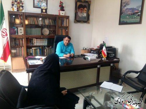 ملاقات عمومی ابراهیم قدمنان فرماندار کردکوی با مردم شریف شهرستان برگزار شد