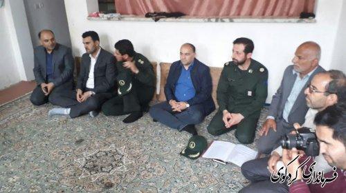 اجرای طرح شهید شوشتری در محله حجت اباد شهر کردکوی