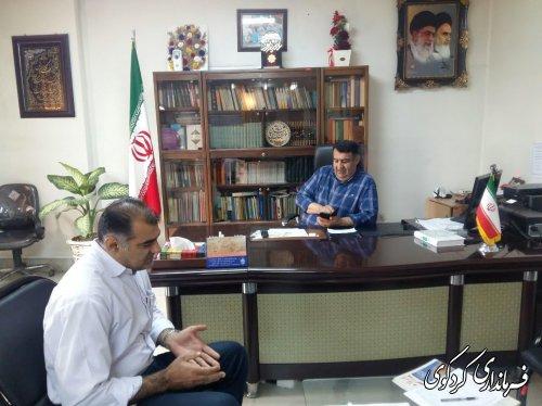 روز پر مشغله در ملاقات عمومی و دیدار مردم شریف شهرستان با ابراهیم قدمنان فرماندار کردکوی .