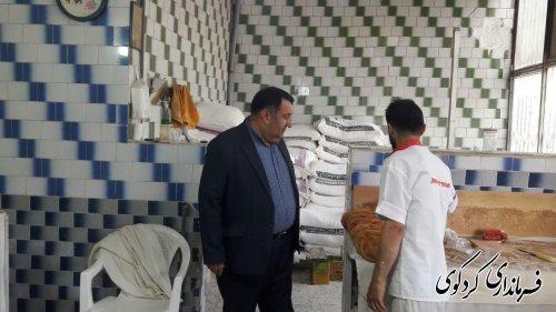 بازدید از چندین نانوایی سطح شهرکردکوی توسط فرماندار
