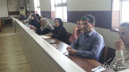 فرماندار و رئیس حوزه انتخابیه غرب استان :  همه امکانات برای برگزاری یک انتخابات سالم را فراهم میکنیم.