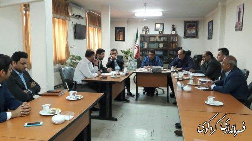 کردکوی رتبه برتر تشکیل پرونده و ثبت درسامانه در بخش کشاورزی استان را دارد