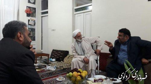 دیدار فرماندار کردکوی  با امام جمعه شهرستان