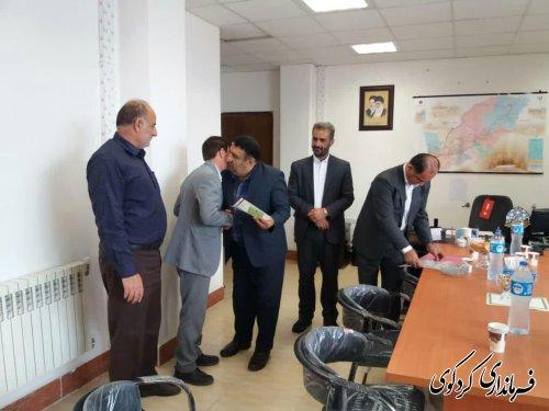 قدمنان فرماندار کردکوی: قدر دانی از زحمات و تلاشها ،یک اصل مهم در نظام اسلامی است.