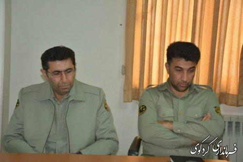 مدیرجدید اداره محیط زیست شهرستان کردکوی معرفی شد