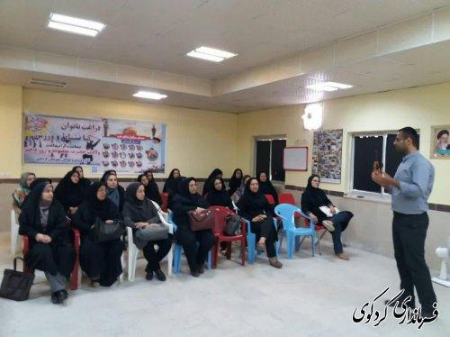 طرح پویش ملی ارتقاء نشاط و تندرستی ویژه بانوان شاغل در دستگاه های اجرایی شهرستان کردکوی برگزارشد