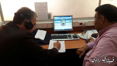 ارتباط مستقیم تلفنی مردم با فرماندار، معاون استاندار و شهردار کردکوی انجام شد