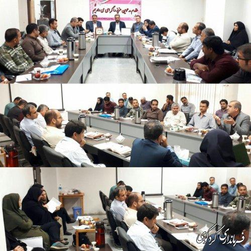 پنجمین همایش ماهانه دهیاران بخش مرکزی در دانشگاه آزاد کردکوی برگزارشد
