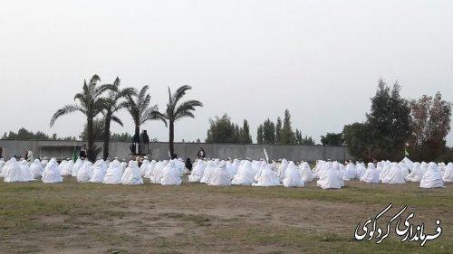 آئین باشکوه  باز سازی واقعه غدیر و جشن مردمی غدیر خم در کردکوی برگزار شد