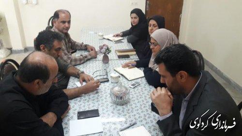 چهارمین نشست کارشناسی ستاد انتخابات مرکز حوزه انتخابیه غرب استان در فرمانداری کردکوی برگزار شد.