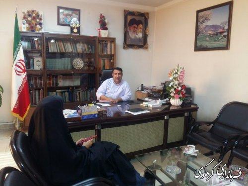 تعدادی از شهروندان شهرستان با فرماندار کردکوی دیدار کردند